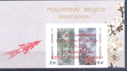 2016. Tajikistan, 55y Of Space Flight Of Y. Gagarin, 2v IMPERFORATED With Overprint, Mint/** - Tadschikistan