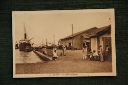 DAKAR - Le Mole Et La Douane - Sénégal