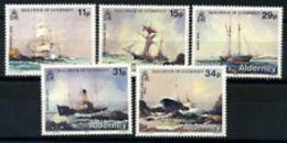 ALDERNEY ANNATA COMPLETA  1987 - Alderney