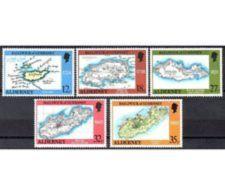 ALDERNEY ANNATA COMPLETA  1989 - Alderney
