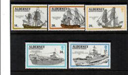 ALDERNEY ANNATA COMPLETA  1990 - Alderney