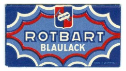 LAMETTA DA BARBA - RAZOR BLADE IN WRAPPER - ROTBART BLAULACK - Wrapper Intact - Rasierklingen
