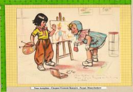 GRAVURE / GERMAINE BOURET : Alors Maitre ça Marche  Peinture - Bouret, Germaine