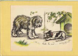 GRAVURE / GERMAINE BOURET : Prete Le Moi  ; Chiens  1938.39 - Bouret, Germaine
