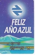 CALENDARIO DEL ESPAÑA DEL AÑO 1986 DE UN TREN (CALENDRIER-CALENDAR) TREN-TRAIN-ZUG - Calendarios