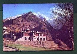 PAKISTAN  -  Hunza  Raki Poshi Peak And The Palace Of The Emir  Unused Postcard - Pakistan