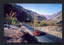 PAKISTAN  -  Shahra-E-Resham  (Silk Road)  Unused Postcard - Pakistan