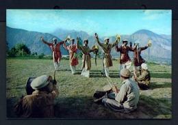 PAKISTAN  -  Hunza Folk Dance  Unused Postcard - Pakistan