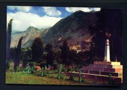 PAKISTAN  -  Gilgit  Chinar Bagh  Unused Postcard - Pakistan