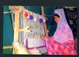 PAKISTAN  -  Hunza  Karimabad  Making Bedsheet  Unused Postcard - Pakistan