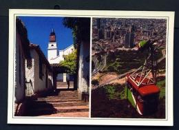 COLOMBIA  -  Bogota  Dual View  Unused Postcard - Colombia