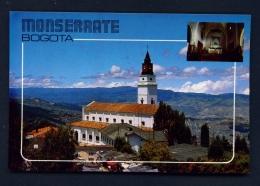 COLOMBIA  -  Bogota  Monserrate  Unused Postcard - Colombia