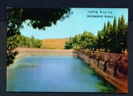 PALESTINE  -  Bethlehem  Solomon's Pools  Unused Postcard - Palestine