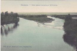 Melreux - L'Ourthe (colorisée, Edit Demelenne-Collet, Marco Marcovici) - Hotton