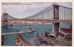 NEW YORK - Manhattan Bridge - Ponts & Tunnels