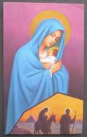 IMAGE PIEUSE ( Vers 1960) : LA FUITE EN EGYPTE / The Flight Into Egypt HOLY CARD / SANTINO - Devotion Images