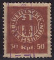 RAILWAY TRAIN Ticket Stamp / Revenue GERMANY - Tax Stamp Deutsche Reichsbahn - Trains