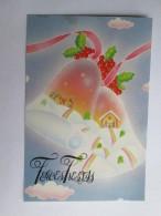 FELICES FIESTAS CAMPANAS. MERRY CHRISTMAS BELLS. - Nouvel An