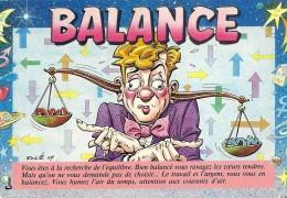 BALANCE Balança Libra Bilancia Signo Signe Segni Astrologique Astrology Zodiaco Horoscopo ILUST JEAN SOLÉ - Astrologie