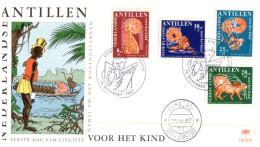 (99) Nederlands Antillen FDC Cover - 1967 - Antilles