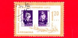 ROMANIA - Nuovo Oblit. - 1963 Giornata Del Francobollo - Congresso UPU - 1.20 Lei - 1948-.... Republics