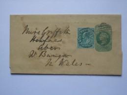 GB VICTORIA NEWSPAPER WRAPPER UPRATED WITH EDWARD VII STAMP - 1840-1901 (Viktoria)