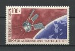 SENEGA 1966 PA N° 52 ** Neuf = MNH Superbe  Cote 2,60 € Espace Space Satellite D1 Français Communications Transport - Senegal (1960-...)