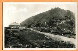 FAM-20  Riesengebirge  Krkonoše,  Schlesierhaus Riesenbäude Karkonosze. Gelaufen In 1936 - Pologne