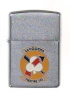 ZIPPO - U.S.S. SLUGGERS - FIGHTING 103 - Chomé Brossé - 1992 - Réf, 626 - Zippo