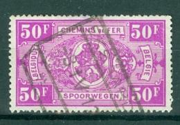 """BELGIE - OBP Nr TR 259 - Cachet  """"EKSAARDE"""" - (ref. AD-4798) - Chemins De Fer"""