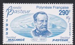 French Polynesia SG 723 1995 Death Centenary Of Louis Pasteur MNH - French Polynesia