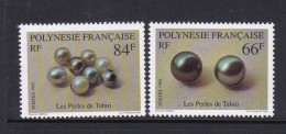 French Polynesia SG 728-29 1995 Pearls MNH - French Polynesia