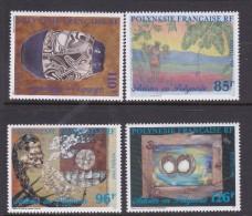 French Polynesia SG 809-812 1997 Polynesian Artists MNH - French Polynesia