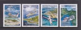 French Polynesia SG 816-19 1998 Aviation MNH - French Polynesia