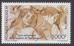 French Polynesia SG 824 1998 Gauguin 150th Anniversary MNH - French Polynesia