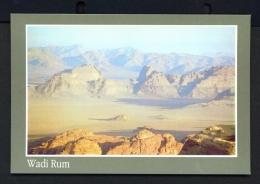 JORDAN  -  Wadi Rum  Unused Postcard - Jordan