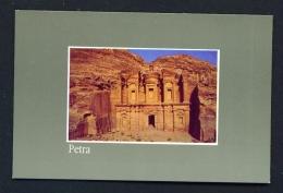 JORDAN  -  Petra  The Monastery  Unused Postcard - Jordan