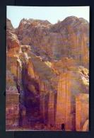 JORDAN  -  Petra  Assyrian Facades  Unused Postcard - Jordan