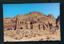 JORDAN  -  Petra  The Royal Section  Unused Postcard - Jordan
