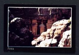 JORDAN  -  Petra  Al Khazneh  The Treasury  Unused Postcard - Jordan