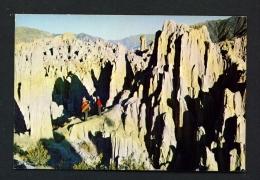 BOLIVIA  -  La Paz  Valle De La Luna  Unused Postcard - Bolivia