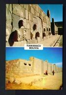 BOLIVIA  -  Tiawanacu  Dual View  Unused Postcard - Bolivia