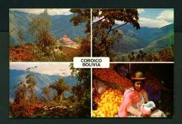 BOLIVIA  -  Coroico  Multi View  Unused Postcard - Bolivia