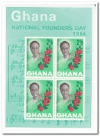 Ghana 1964, Postfris MNH, Flowers, Music - Ghana (1957-...)