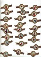 Lot 28 Bague De Cigare Figure De Proue De Navire - Bagues De Cigares