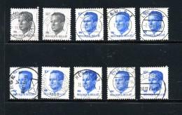 Belgique Velghe Sélection 2069 Et 2352 ° - 1981-1990 Velghe