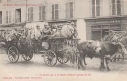 88 - SAINT DIE - Le Dernier Convoi De Blesés Allemands Quittant St Dié - Saint Die