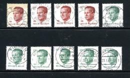 Belgique Velghe Sélection 2113 Et 2085 ° - 1981-1990 Velghe