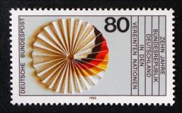 10 ANS DE LA RFA AUX NATIONS UNIES 1983 - NEUF ** - YT 1017 - MI 1185 - Neufs
