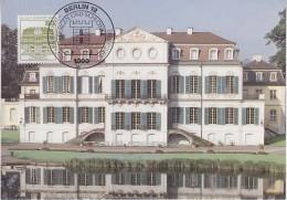 Berlin 1982 Burgen Und Schlosser / Schloss Wilhelmsthal 1v Maxicard (30468) - [5] Berlijn